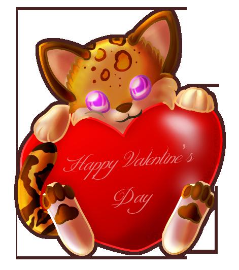 chats st valentin