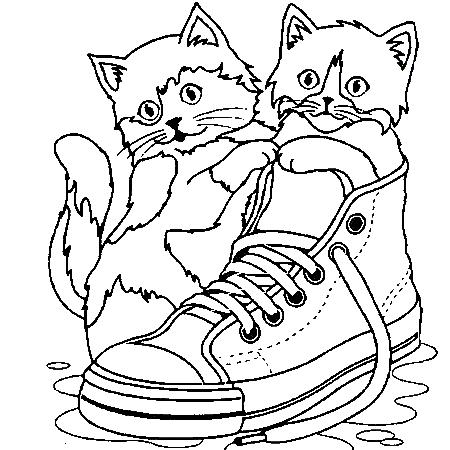 Coloriages page 5 - Petit chaton gratuit ...